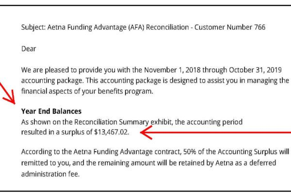 Health Insurance Premium Savings Refund