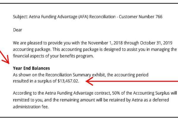 Health Insurance Premium Savings Refund